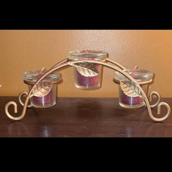 3-Tier Candle Holder Decor